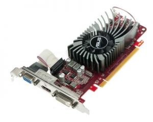 ASUS AMD Radeon HD6570 2048MB DDR3/128bit DVI/HDMI PCI-E (650/1200) (Low Profile)